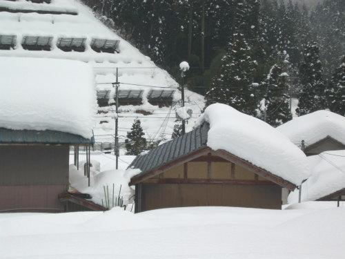 融雪施工例 木之本町金居原
